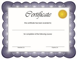 yurdisi egitim sertifika